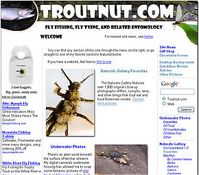 The familiar face of Troutnut.com through most of the first two years of its existence.