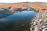 From the Kuparuk River in Alaska.