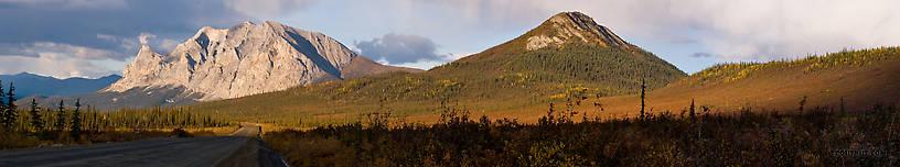 From Dalton Highway in Alaska.