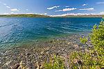 From Summit Lake in Alaska.
