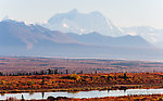 Mount Hayes. This 13,832-foot mountain is the tallest in the eastern Alaska Range. From Denali Highway in Alaska.