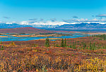 View of the Susitna River from Valdez Creek Road From the Susitna River in Alaska.