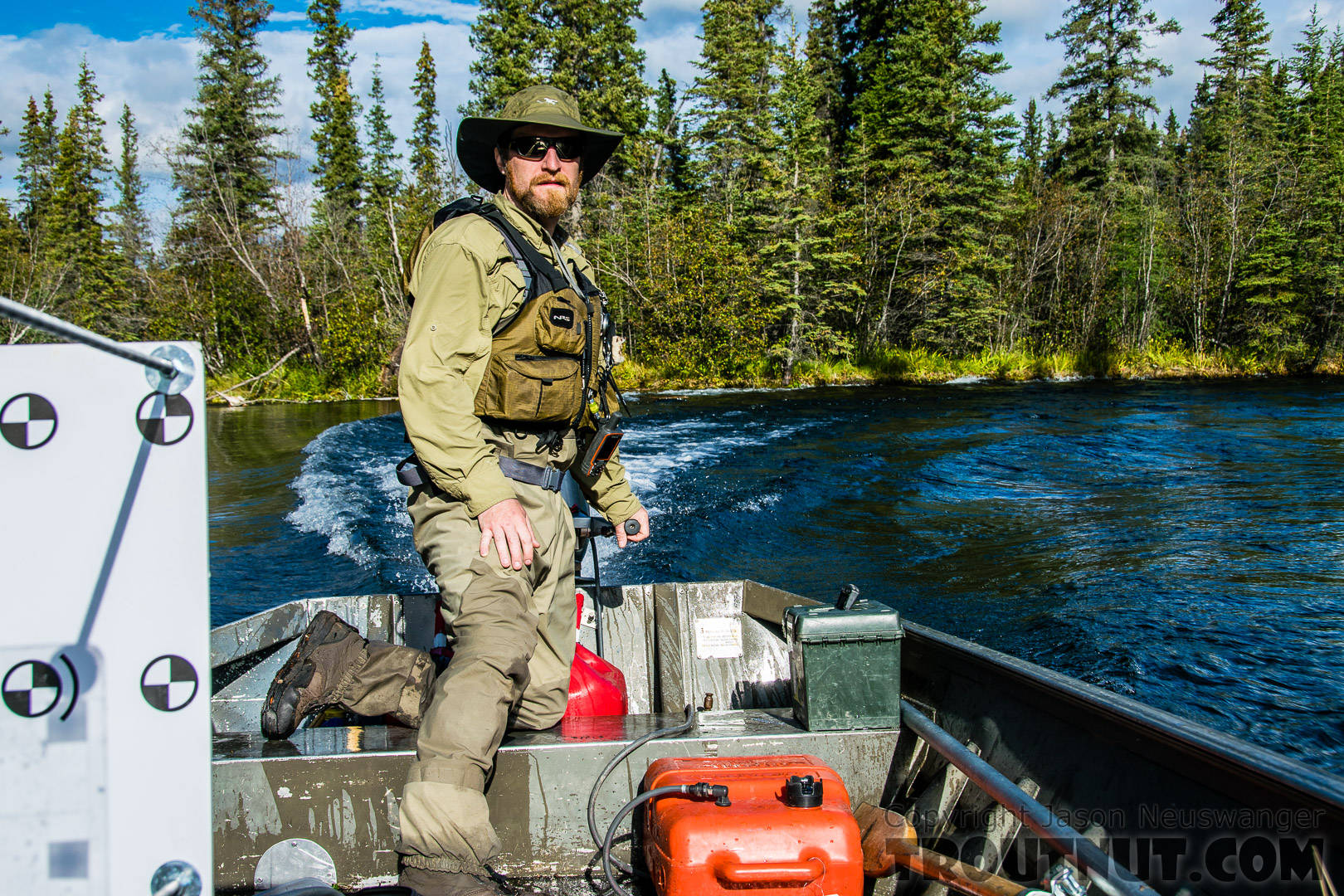From Mystery Creek # 186 in Alaska.