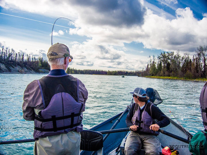 From the Kenai River in Alaska.