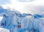 Slopes of Mt Hunter From Denali National Park in Alaska.