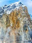 Mt Dickey near the Ruth Glacier From Denali National Park in Alaska.