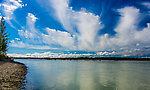 Susina River From Denali National Park in Alaska.