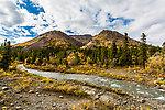 Igloo Creek From Denali National Park in Alaska.