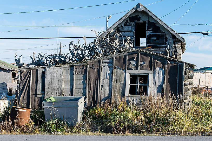 Old building in Kotzebue From Kotzebue in Alaska.