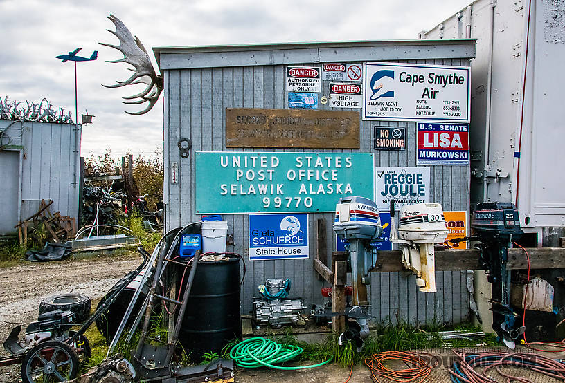 Old signs in Selawik From Selawik in Alaska.