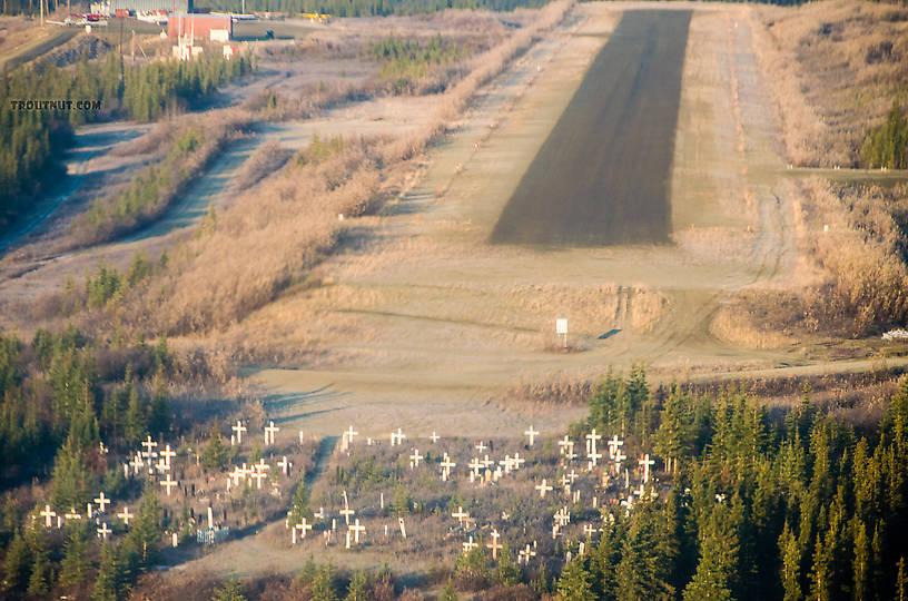 Heading for upper right not bottom left (hopefully) From Kiana in Alaska.