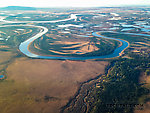 Braids in the Kobuk River delta From the Kobuk River in Alaska.