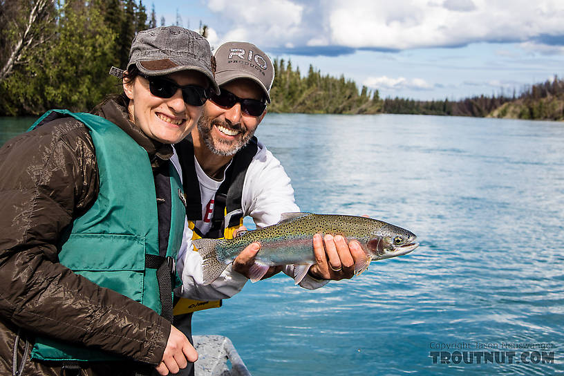Lena's Kenai River rainbow From the Kenai River in Alaska.