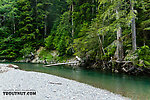 From the South Fork Sauk River in Washington.