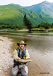 19.25 inch brown From Mystery Creek # 227 in Montana.