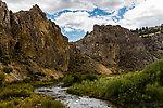 Big Sheep Creek canyon From Big Sheep Creek in Montana.