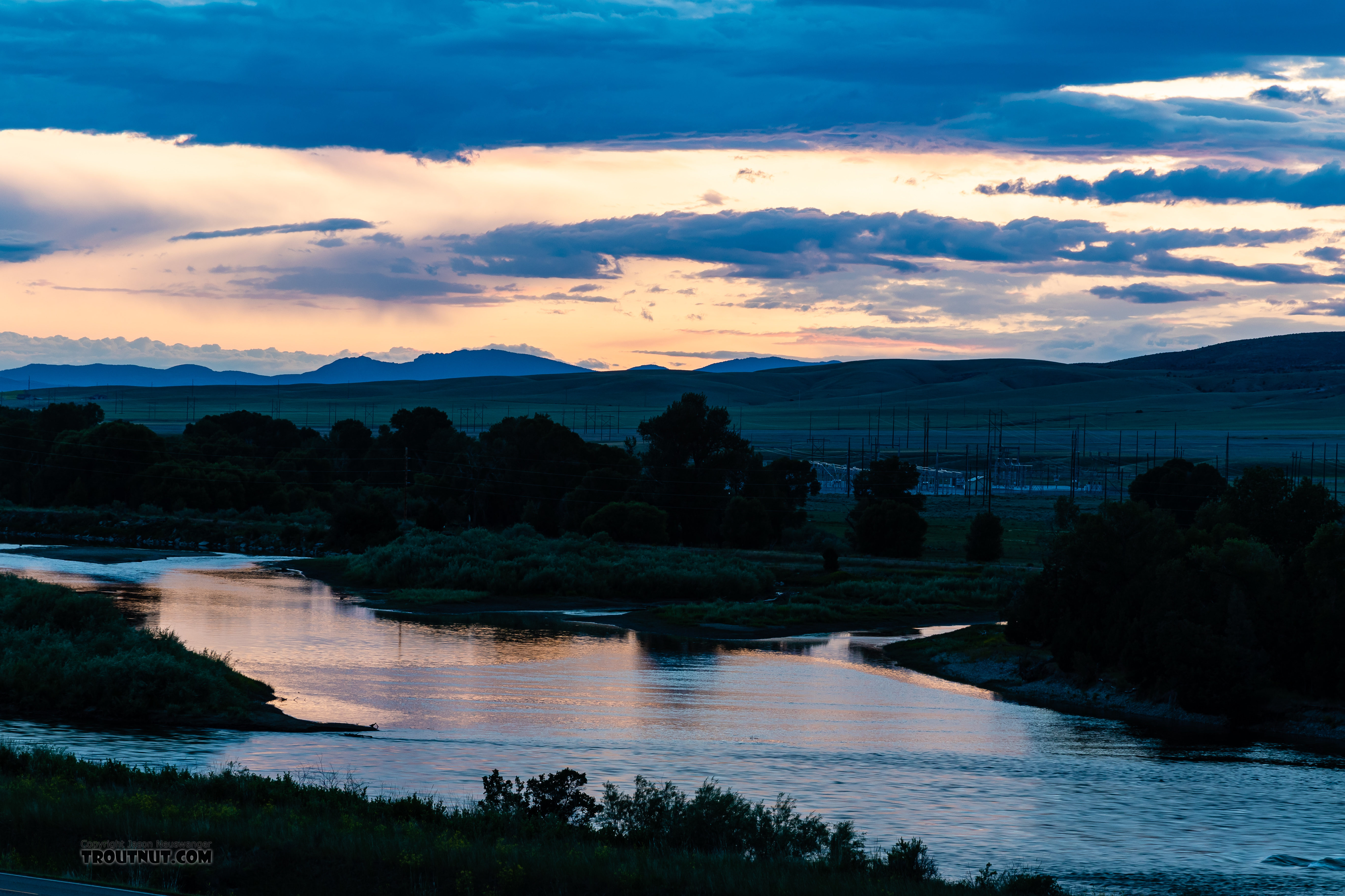 From the Missouri River in Montana.