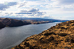 When driving home through eastern Washington we always like to stop at this overlook of the Columbia in the high desert. From the Columbia River in Washington.