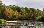 From the Namekagon River in Wisconsin.