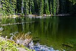 From Taneum Lake in Washington.