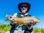 """At 21"""" this was the big fish of the day. From Mystery Creek # 237 in Montana."""