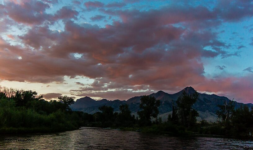 From the Big Lost River in Idaho.