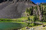 From Green Lake in Idaho.