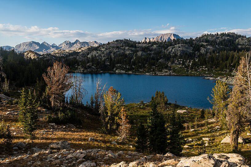 Hobbs Lake From Hobbs Lake in Wyoming.