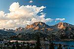 Island Lake From Island Lake in Wyoming.