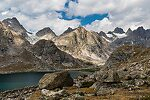 From Titcomb Basin in Wyoming.