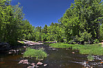 This pretty rapids is one of many channels of a large warmwater river. From the Chippewa River in Wisconsin.