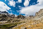 Head of Titcomb Basin From Titcomb Basin in Wyoming.