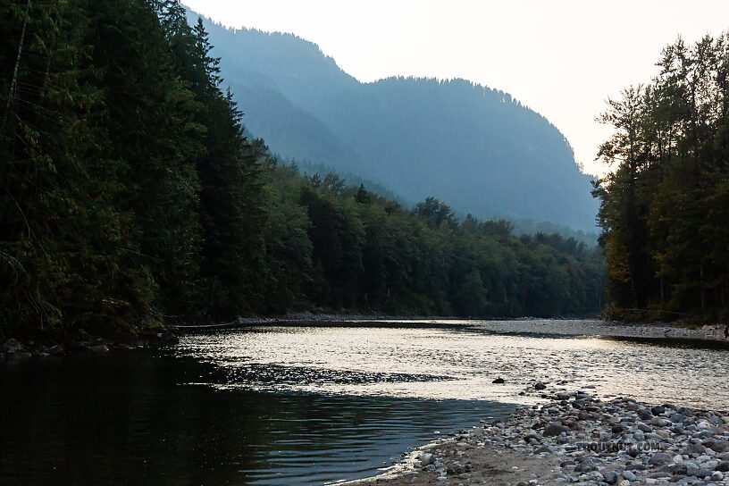 From the South Fork Skykomish River in Washington.