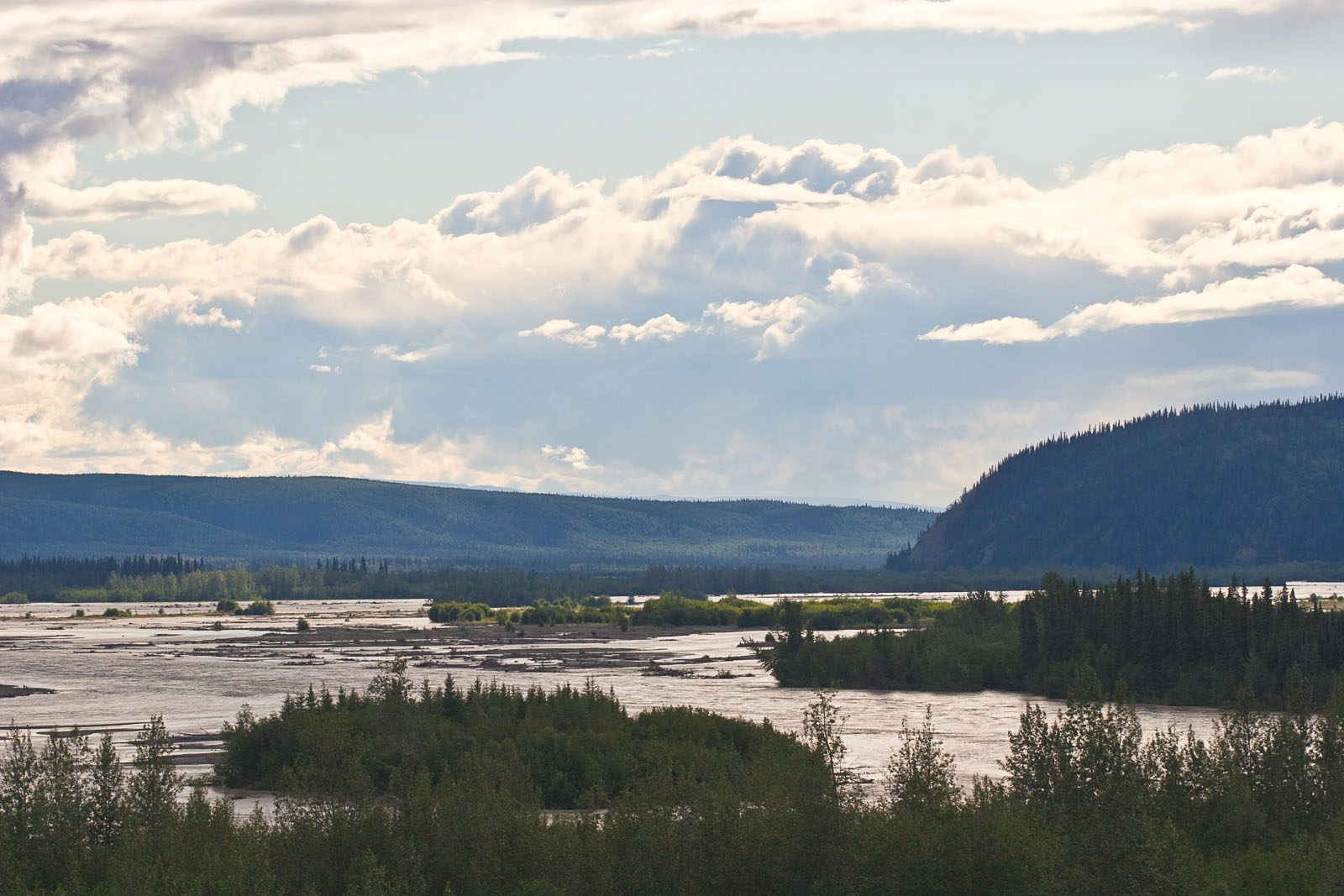 From the Tanana River in Alaska.