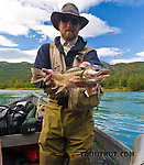 Troutnut's best dolly varden from this Kenai trip. From the Kenai River in Alaska.
