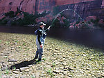 Glen Canyon Dam above Lee's Ferry (by Martinlf in Fishing Reports)