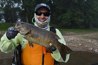 "A 20"" Juniata smallie."