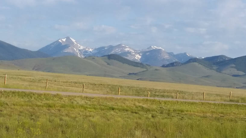 Pioneer Mountains near Melrose, Montana