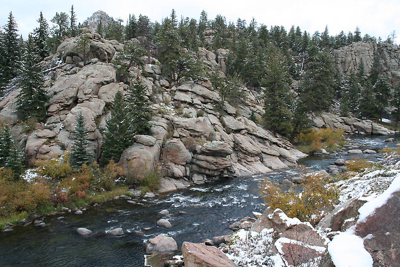 Southplatte eleven mile canyon for 11 mile fishing report