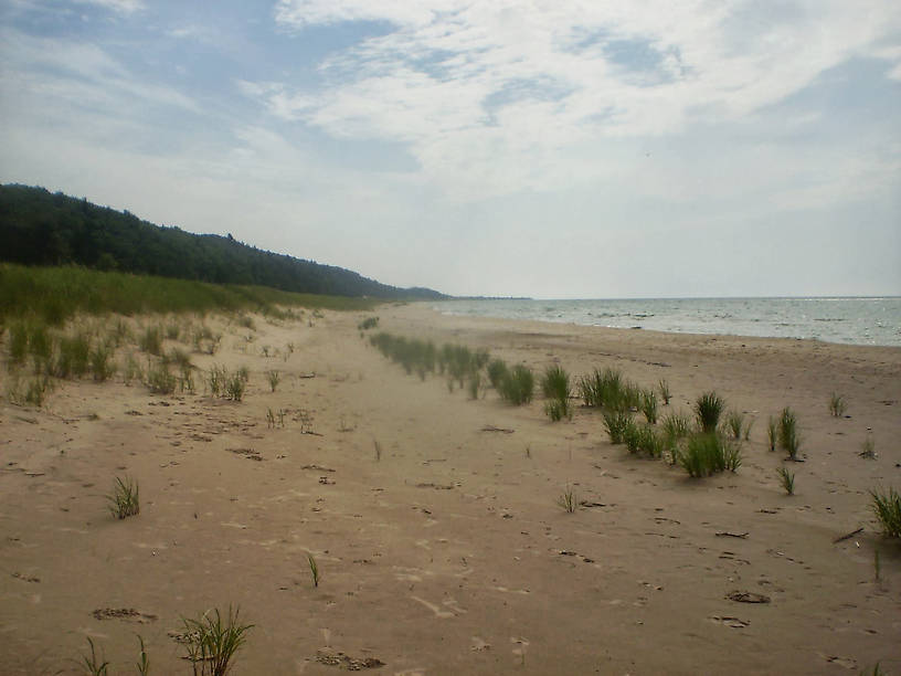 Lake Michigan at Nordhouse Dunes Wilderness