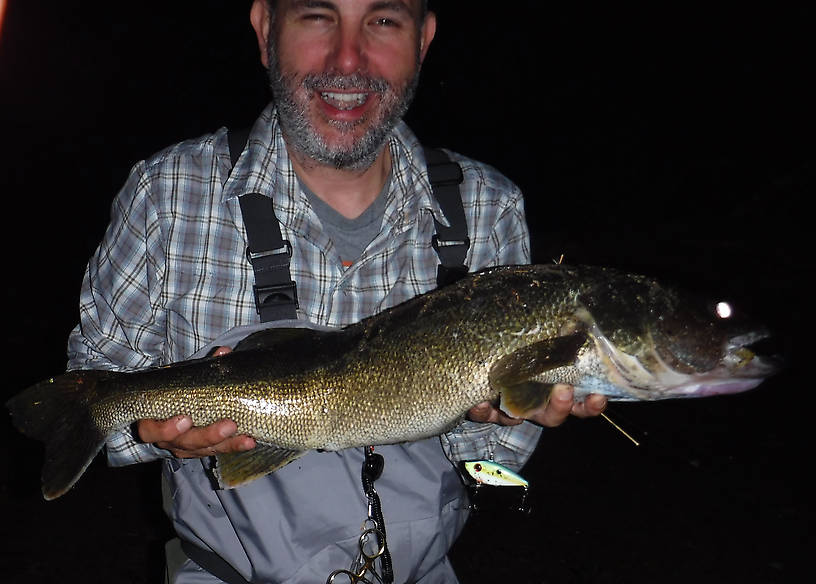 "Marvin caught this walleye one evening.  It was 26"" (measured)"