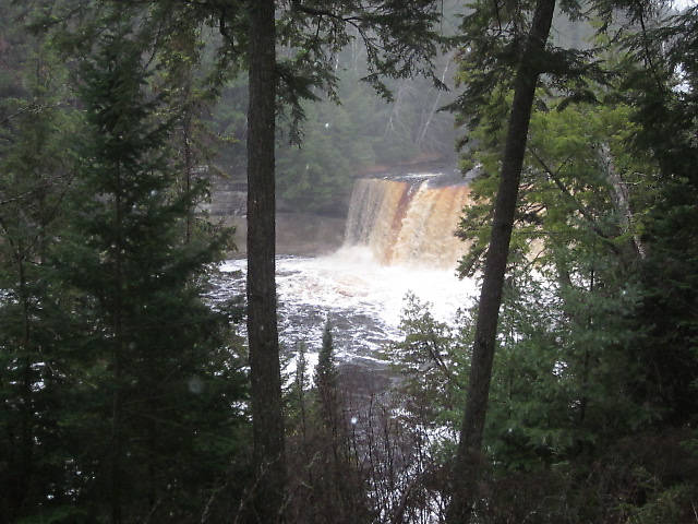 The Upper Falls...Tahquamenon Falls