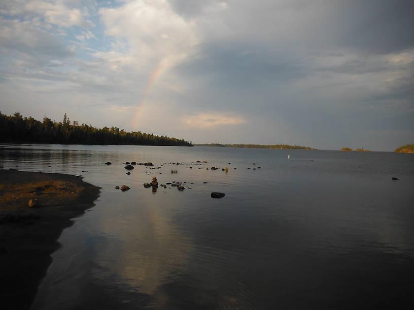 Rainbows off Daisy Farm campground