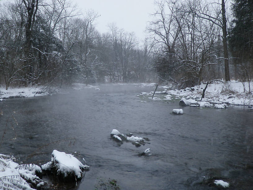 Winter on Big Spring Creek (wow).