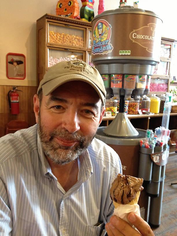 Grandpa...I found an ice cream spot in Bozeman...
