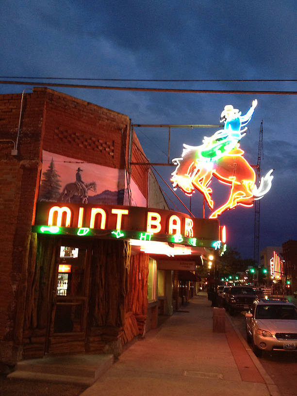 Mint Bar Sheridan Wyoming...Rumor has it Kurt is barred from ever entering this place. :)
