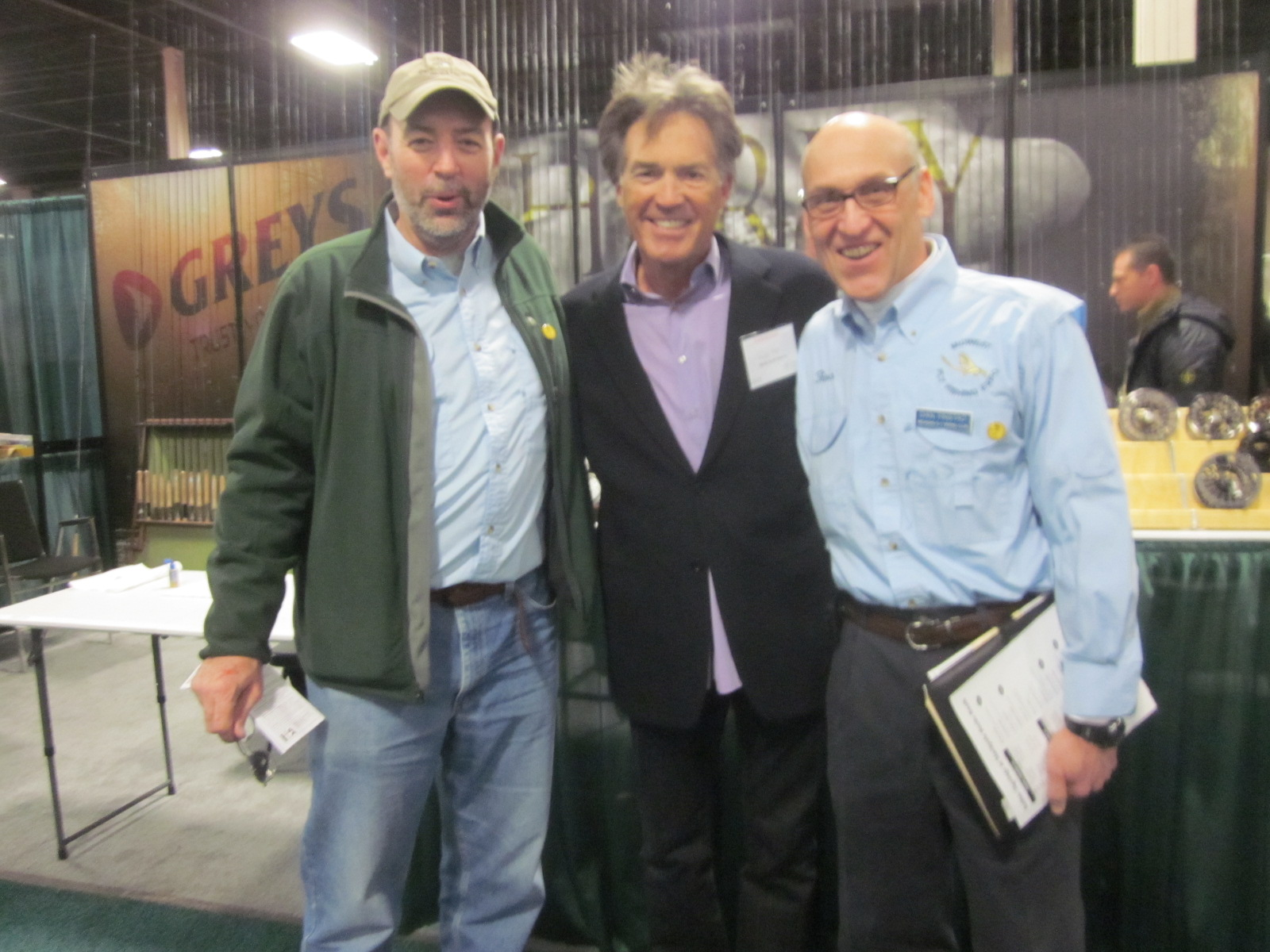 Me, Andy Mill, and my friend Dan