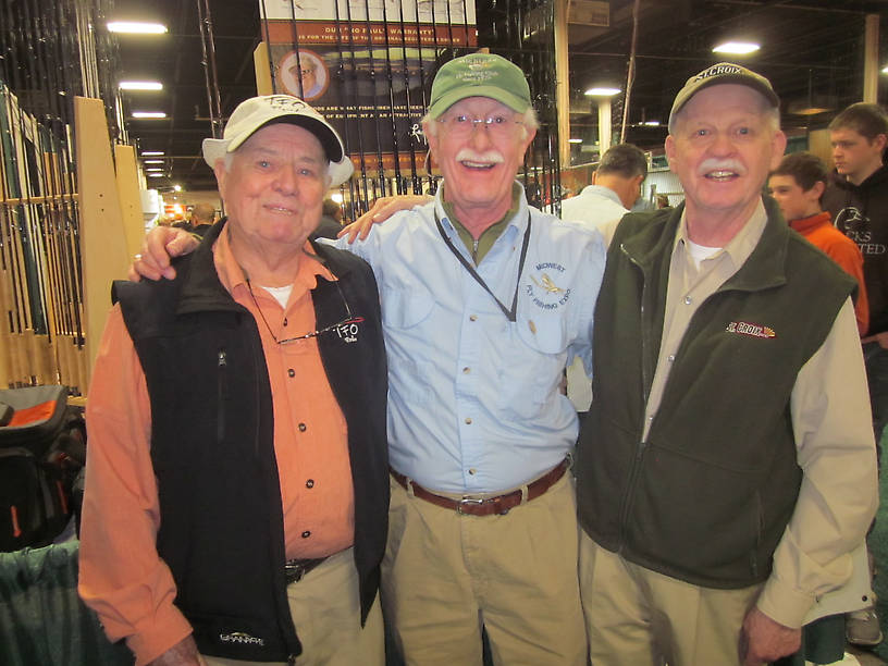 Lefty & Jacklin with my friend Peter
