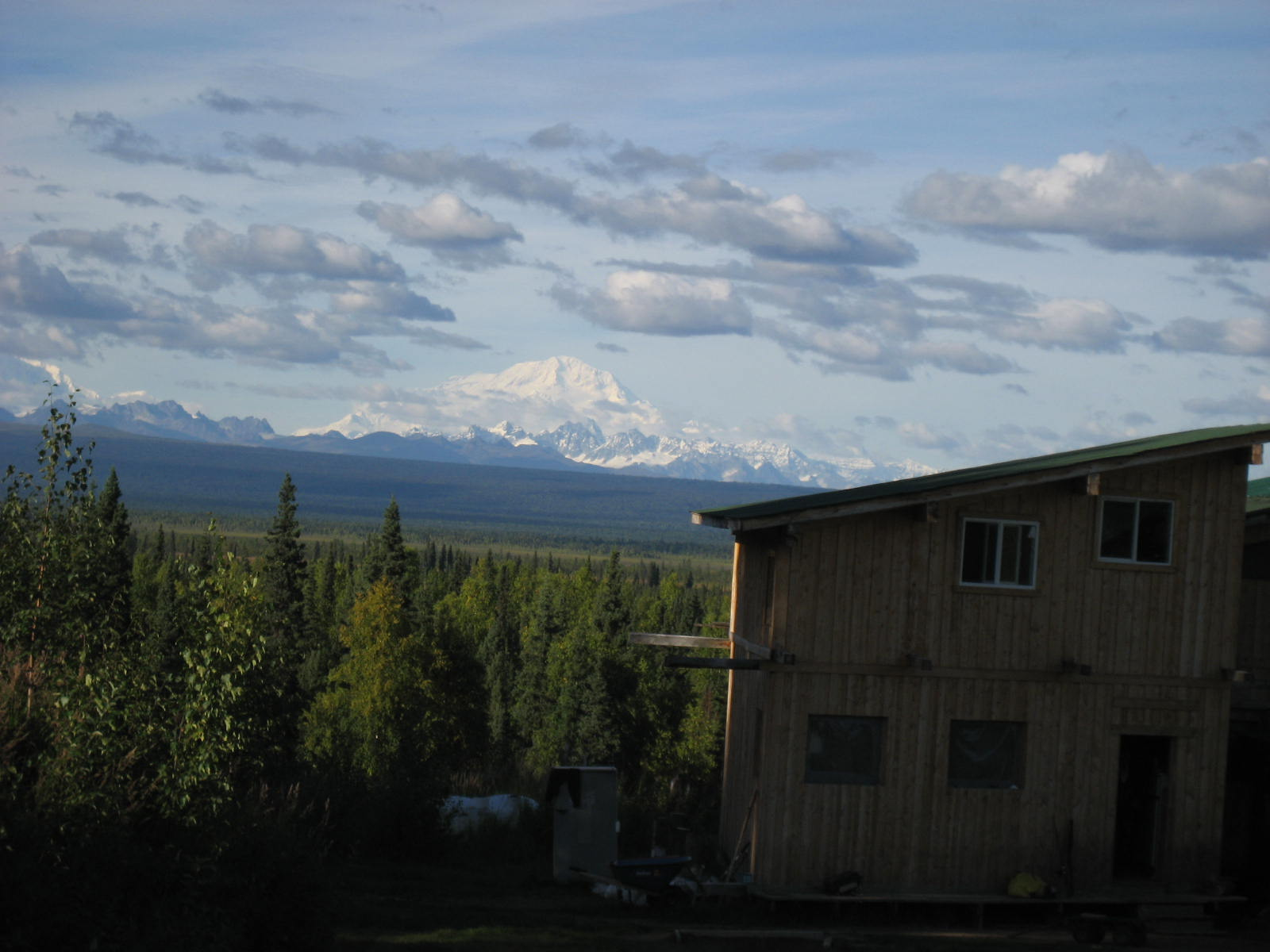 Denali from the lodge