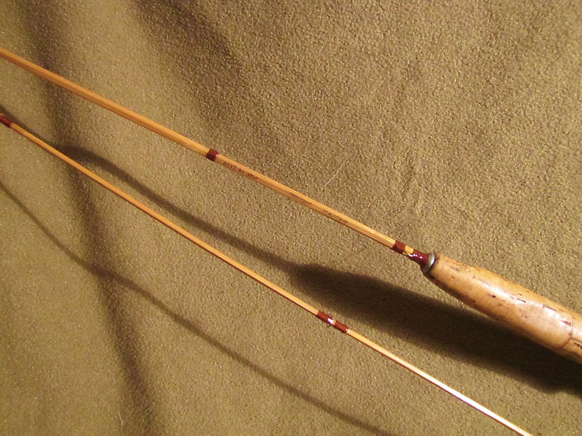 My Newest Bamboo Rod Official Test The Weekend